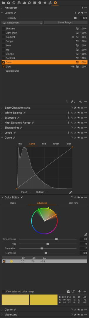03 Colour Editor
