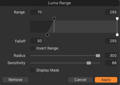 04 - Highlights Luma Range